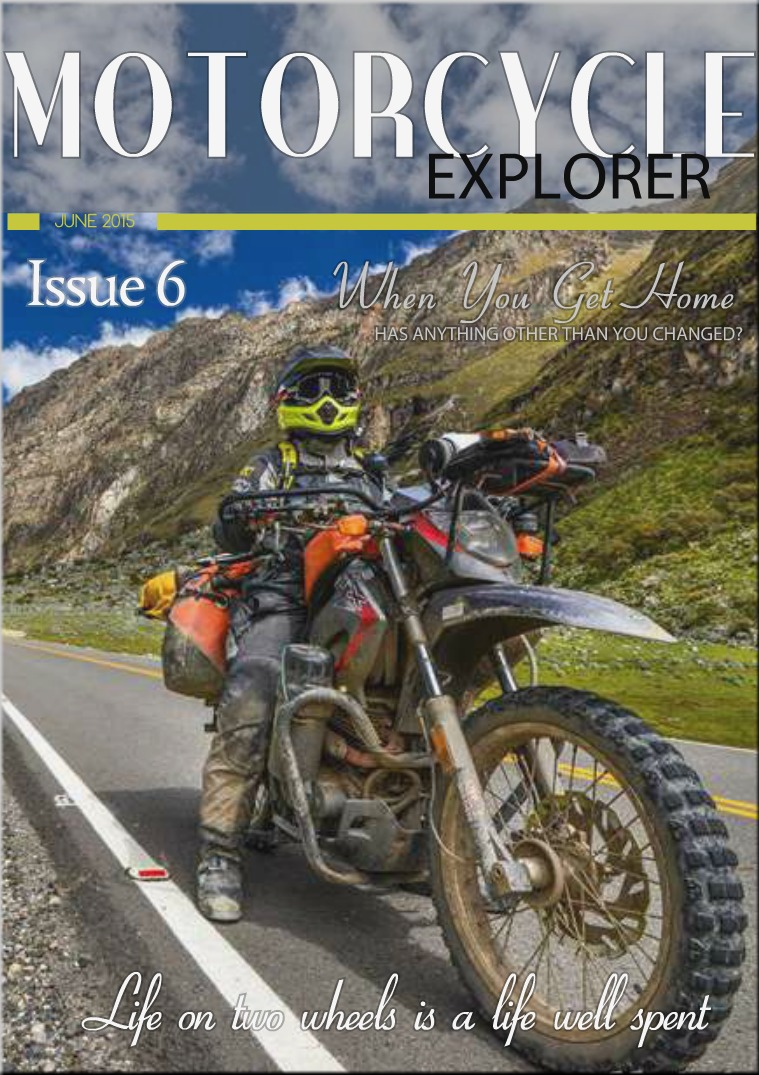 Motorcycle Explorer June 2015 Issue 6