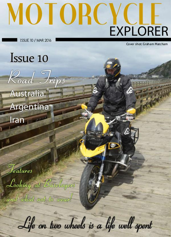 Motorcycle Explorer Mar 2016 Issue 10