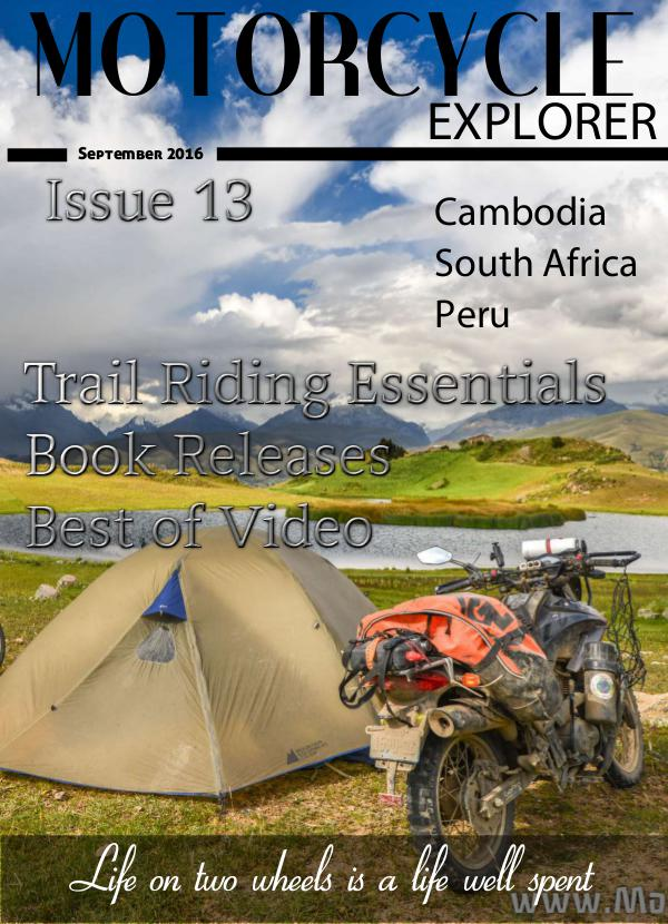 September 2016 Issue 13