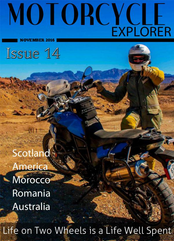 Motorcycle Explorer November 2016 Issue 14