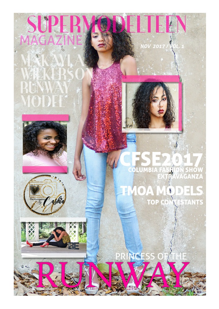 SuperModelTeenMagazine VOL.1