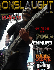 METAL ONSLAUGHT MAGAZINE AUGUST 2014