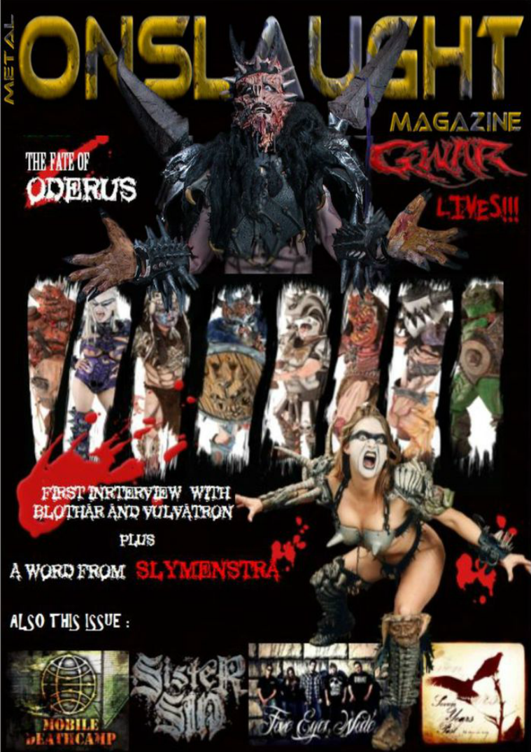 METAL ONSLAUGHT MAGAZINE NOVEMBER EDITION NOV 2014