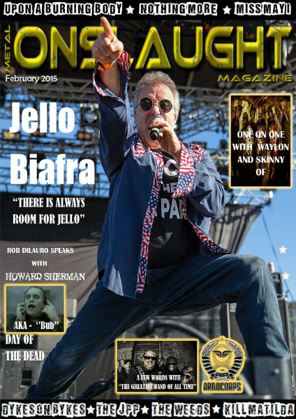 Metal Onslaught Magazine February 2015 Volume 1