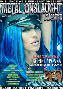 Metal Onslaught Magazine May 2015