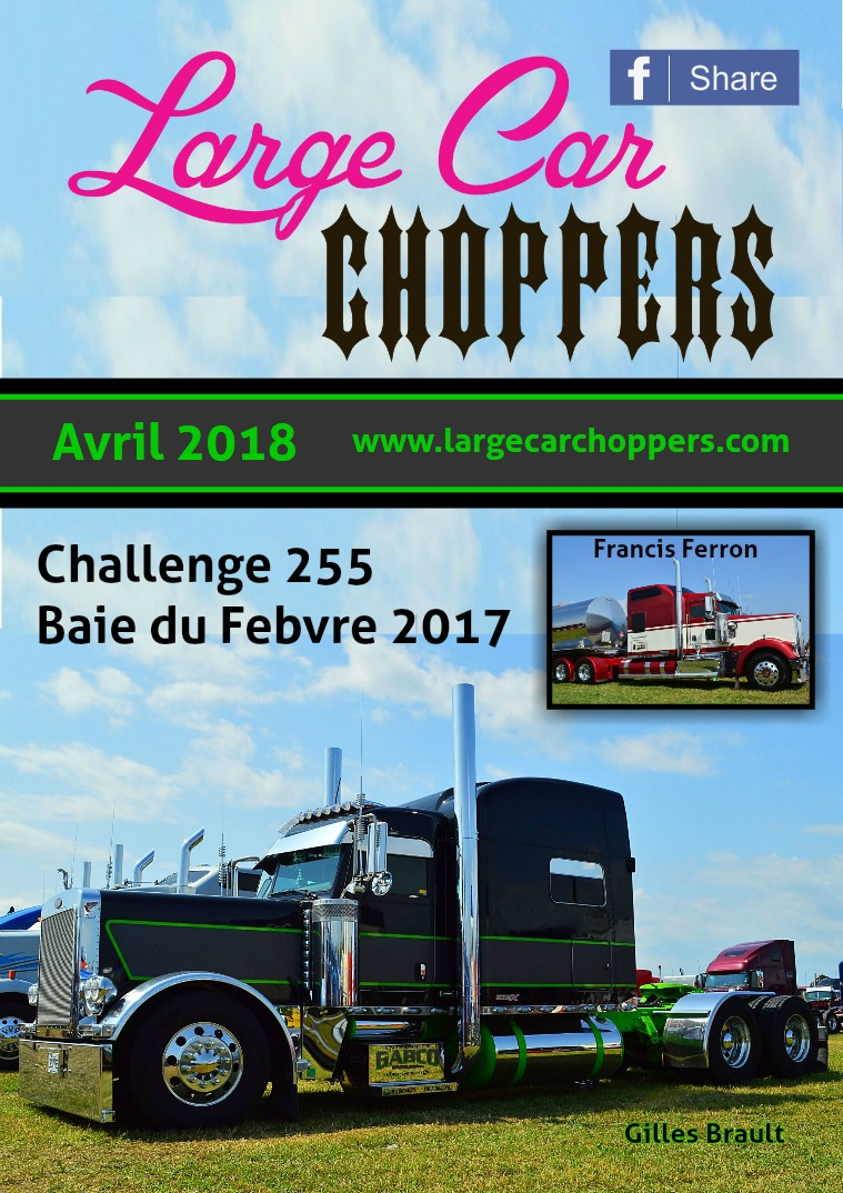 Large Car Choppers Large-Car Choppers - Avril 2018