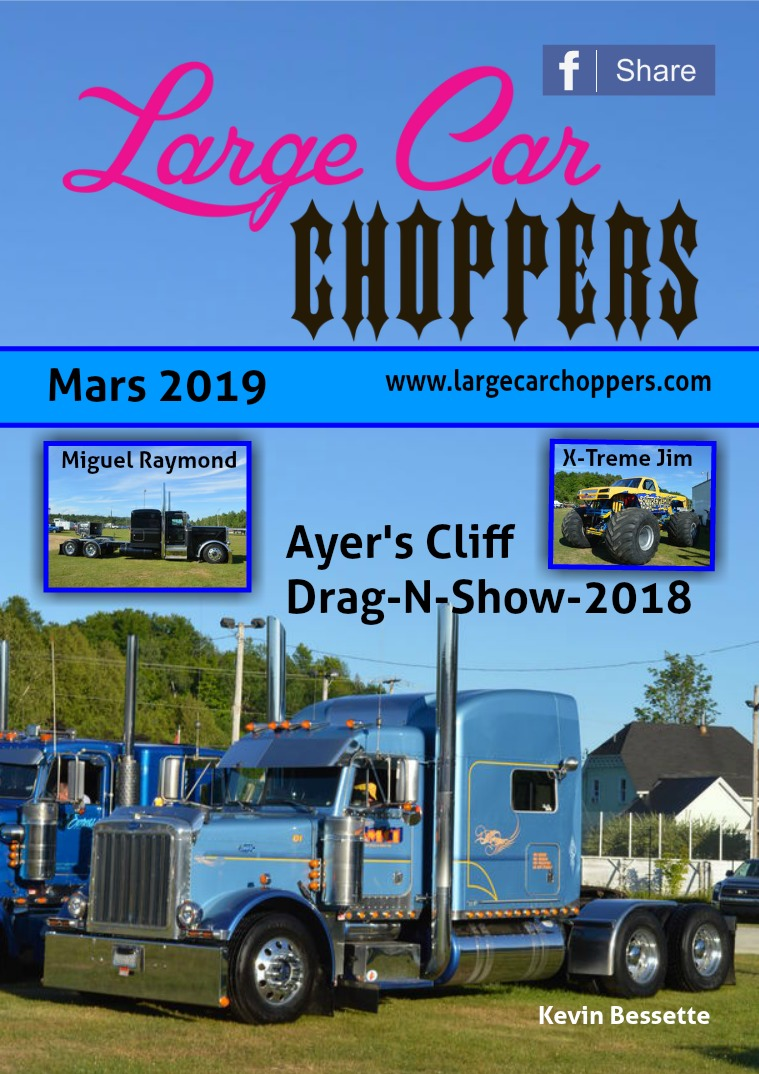 Large Car Choppers Mars - 2019