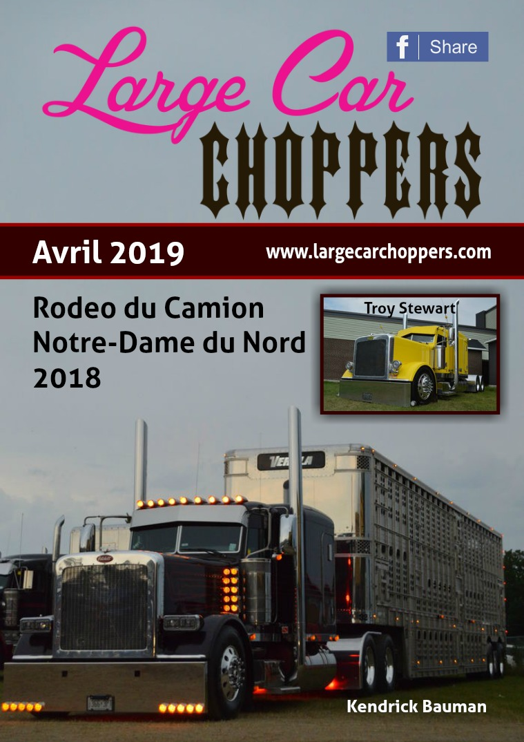 Large Car Choppers Avril - 2019