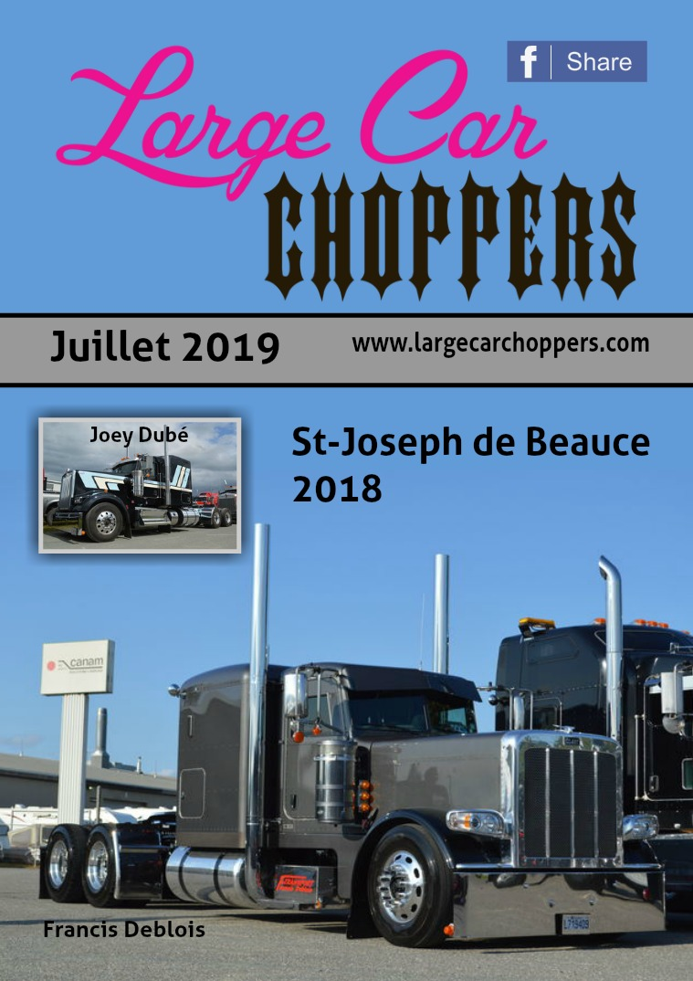 Large Car Choppers Juillet - 2019