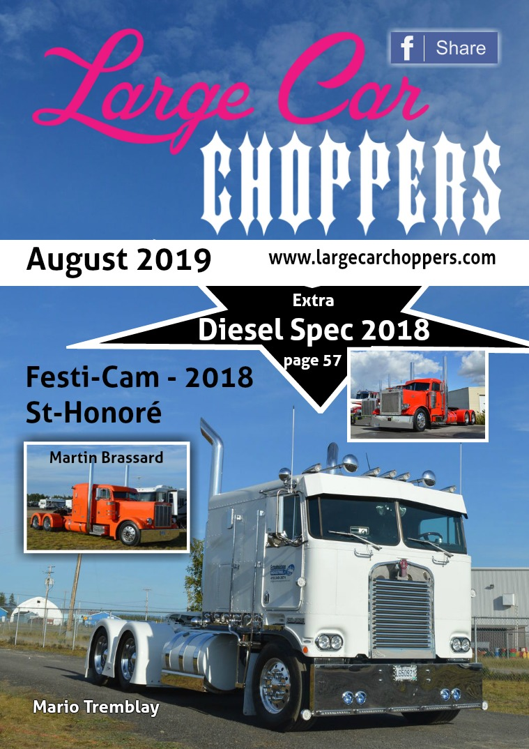 Large-Car Choppers (e.v.) August - 2019