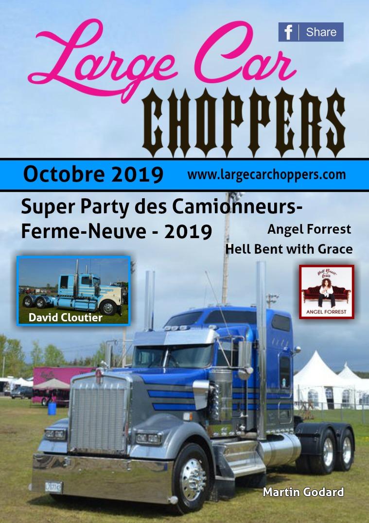 Large Car Choppers Octobre - 2019
