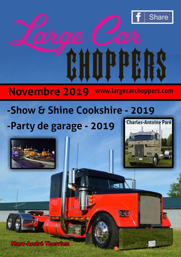 Large Car Choppers Novembre - 2019