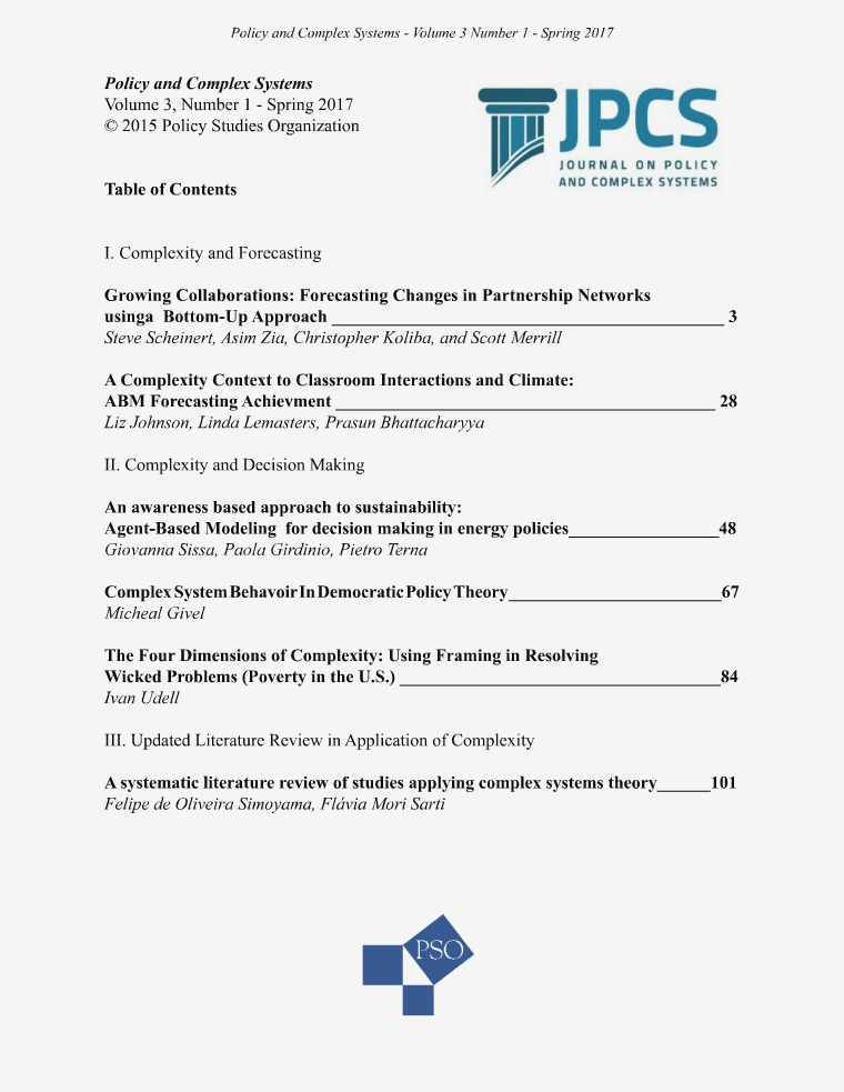 Volume 3, Issue 1, Spring 2017