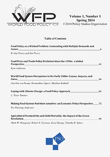 World Food Policy