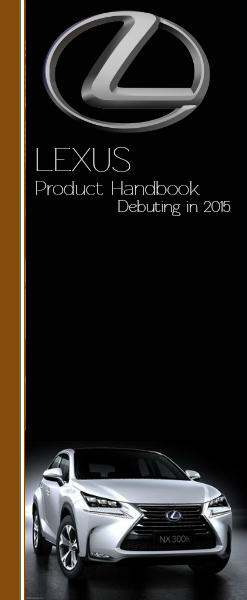 Automotive Manuals 2015 Lexus of Massapequa Product Handbook