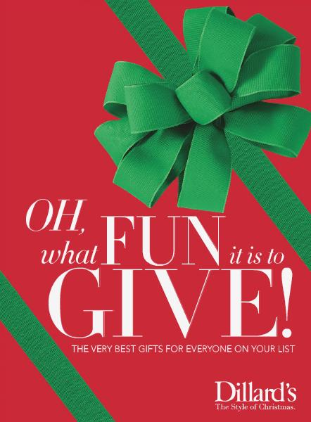 Dillard's Christmas Gift Guide Christmas Gift Guide 2014