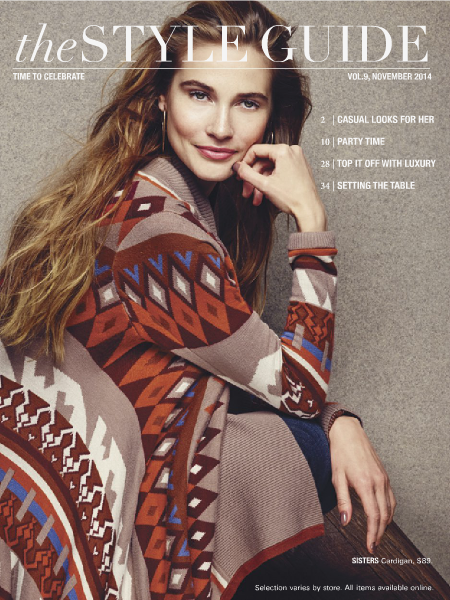 Dillard's Style Guide Volume 9 November 2014
