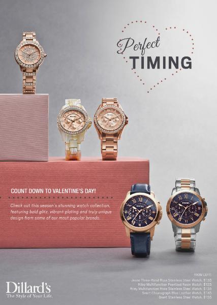 Valentine's Day Catalog Valentine's Day Watches