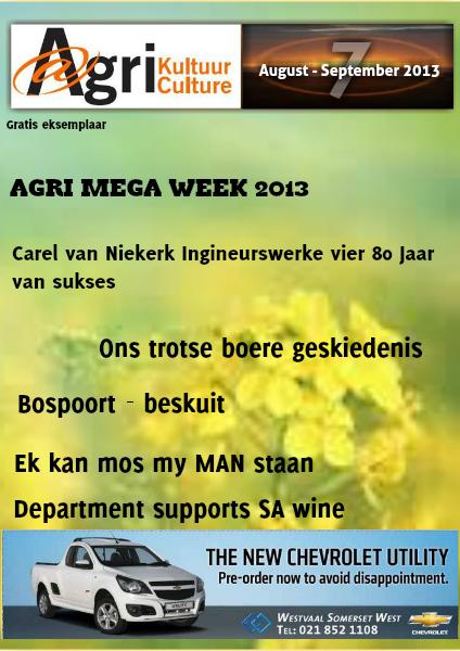 Agri Kultuur August/September 2013