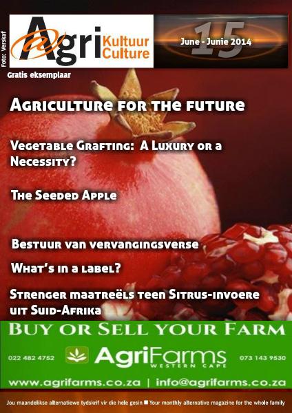 Agri Kultuur June / Junie 2014