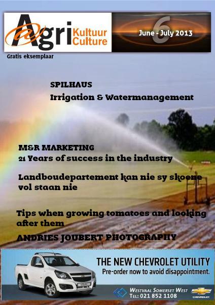 Agri Kultuur June/July 2013
