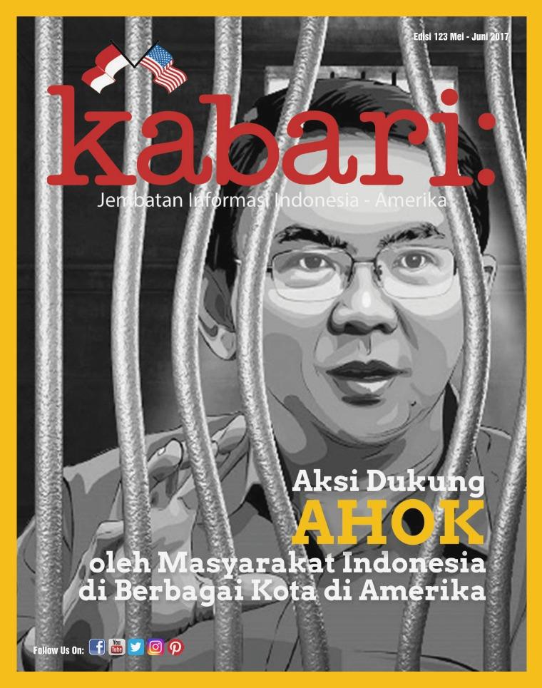 Majalah Kabari Vol 123 Mei - Juni 2017