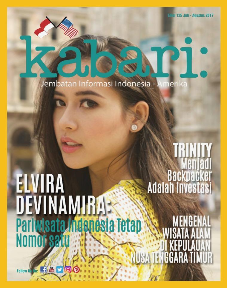 Majalah Kabari Vol 125 Juli - Agustus 2017