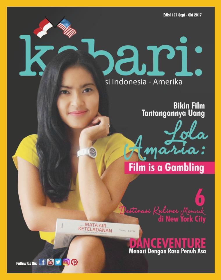 Majalah Kabari Vol 127 Sept - Okt 2017