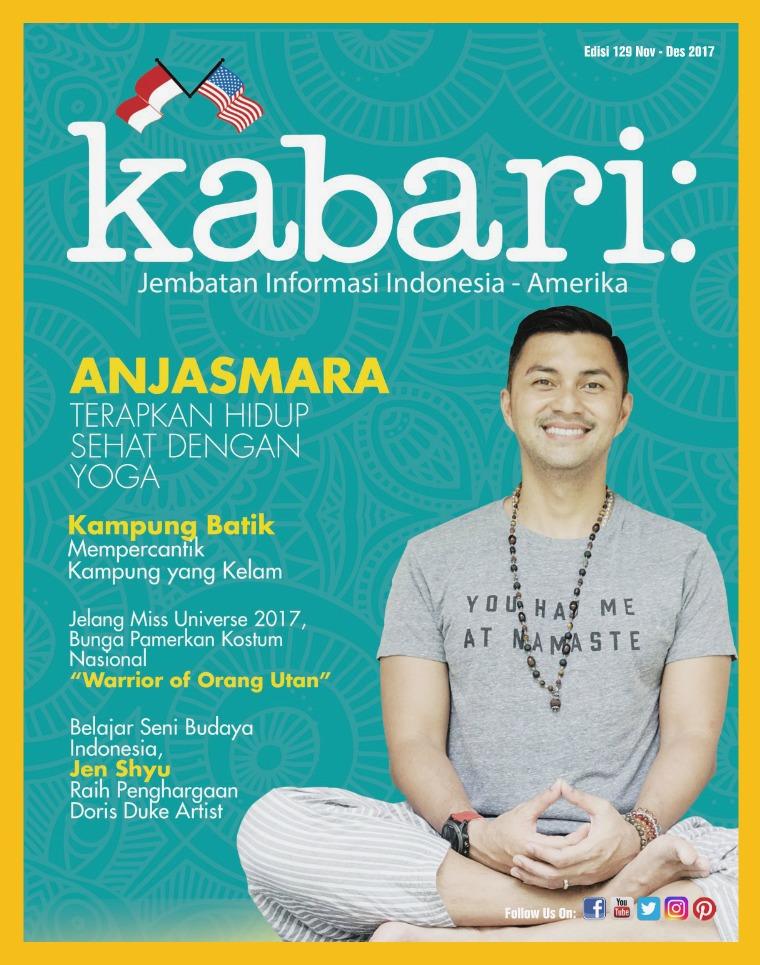 Majalah Kabari Vol 129 Nov - Des 2017