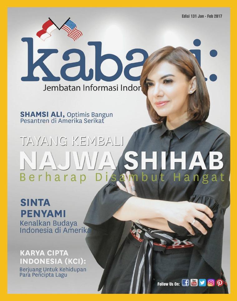 Majalah Kabari Vol 131 Januari - Februari 2018