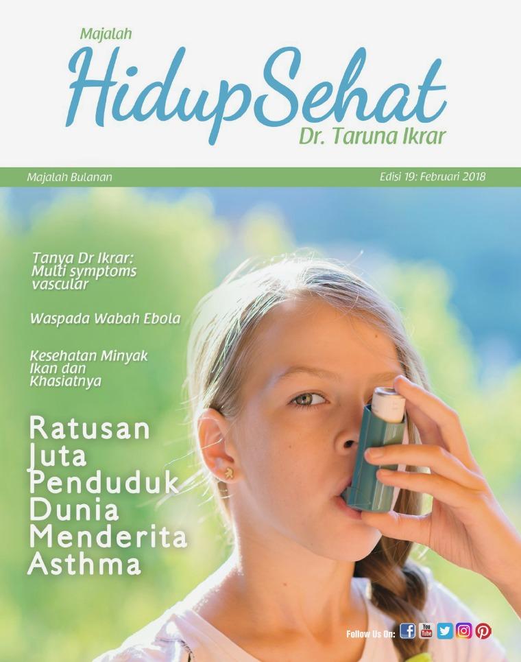 Majalah Hidup Sehat Vol 19: Februari 2018
