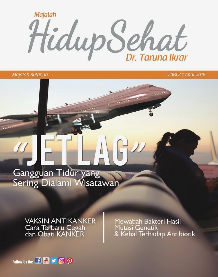 Majalah Hidup Sehat Vol 21: April 2018