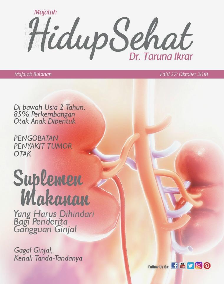 Majalah Hidup Sehat Vol 27: Oktober 2018