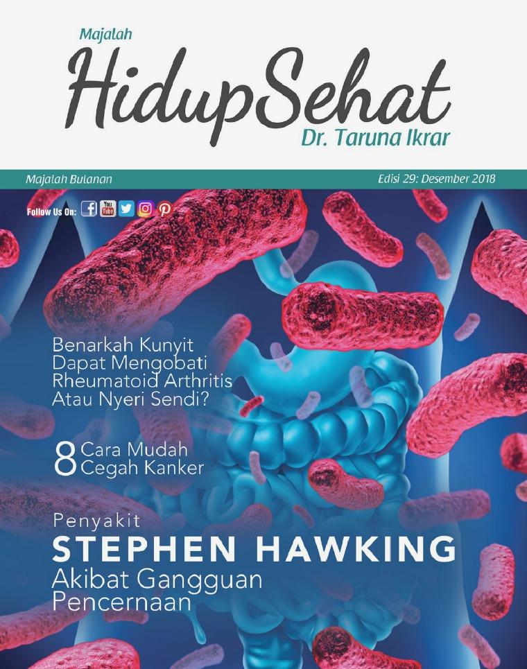 Majalah Hidup Sehat Vol 29: Desember 2018