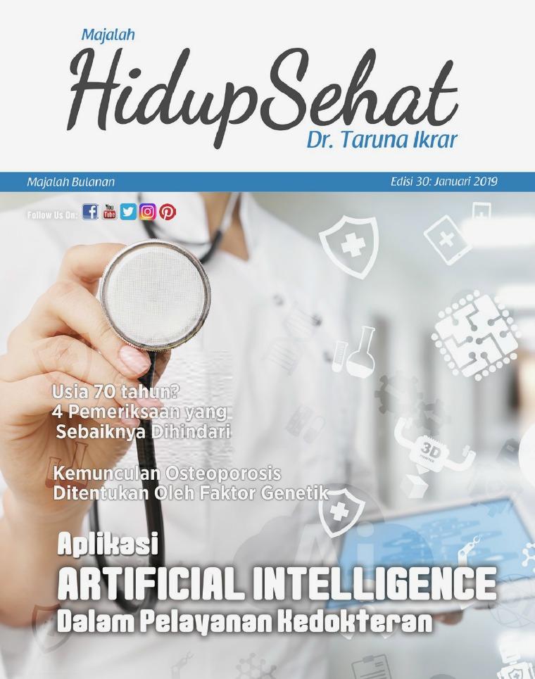 Majalah Hidup Sehat Vol 30: Januari 2019
