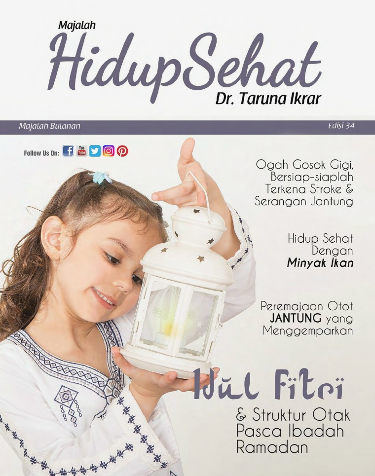 Majalah Hidup Sehat Vol 34: Mei 2019