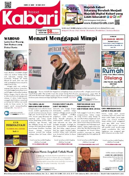 Majalah Digital Kabari Vol: 88 Juni-Juli 2014
