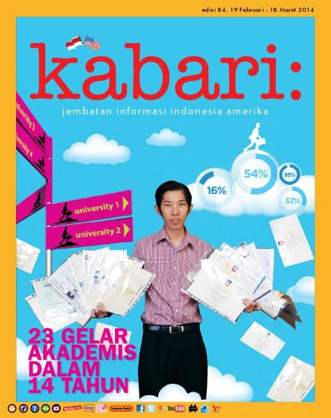 Majalah Digital Kabari Vol: 84 Februari-Maret 2014