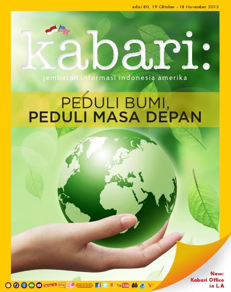 Majalah Digital Kabari Vol: 80 Oktober-November 2013