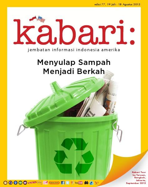 Majalah Digital Kabari Vol: 77 Juli - Agustus 2013