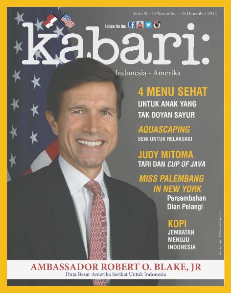 Majalah Kabari Vol: 93 November - Desember 2014