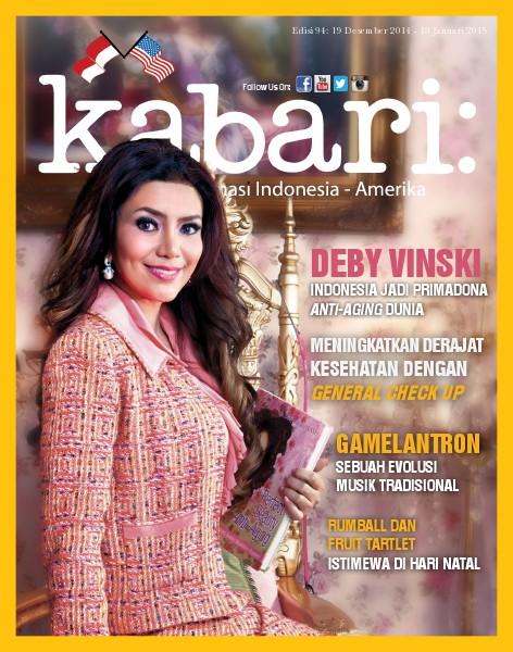 Majalah Kabari Vol: 94 Desember 2014 - Januari 2015