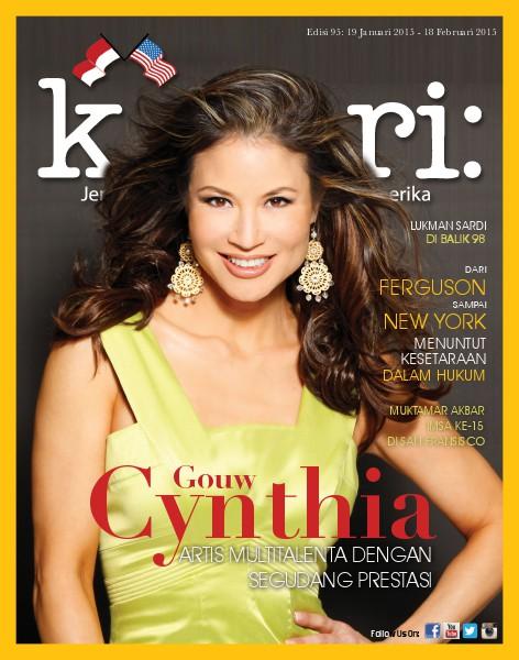 Majalah Kabari Vol: 95 Januari - Februari 2015