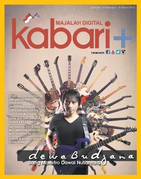 Majalah Digital Kabari Vol 96 Februari - Maret 2015