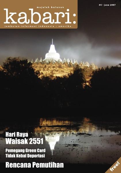 Majalah Digital Kabari Vol: 4  Juni - Juli 2007