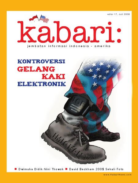 Majalah Digital Kabari Vol: 17 Juli - Agustus 2008