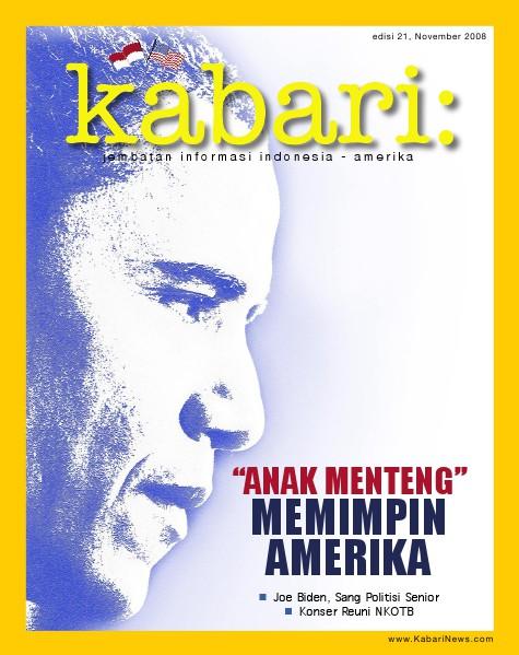 Majalah Digital Kabari Vol: 21 November - Desember 2008
