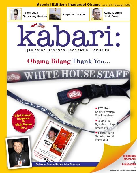 Majalah Digital Kabari Vol: 24 Februari - Maret 2009