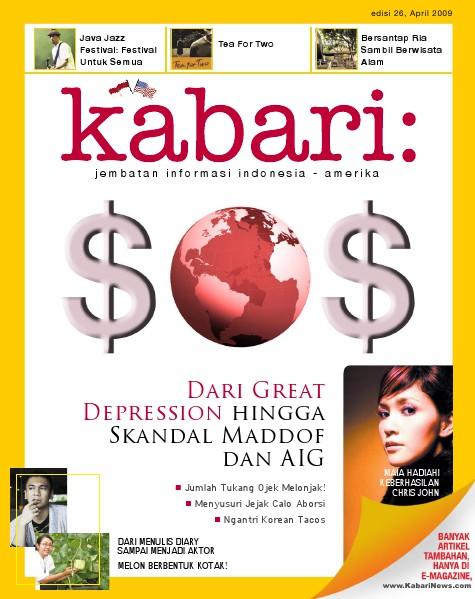Majalah Digital Kabari Vol: 26 April - Mei 2009