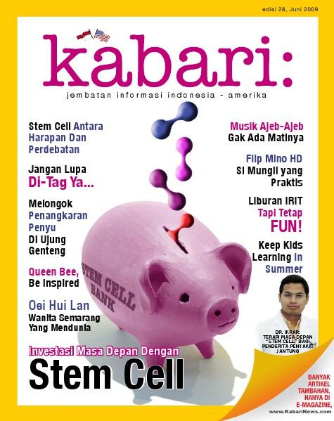 Majalah Digital Kabari Vol: 28 Juni - Juli 2009